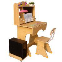 华丰可升降儿童学习桌电脑书桌学生桌椅写字桌课桌椅套装