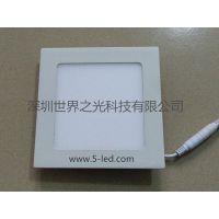 深圳世界之光LED灯厂家供应LED方形面板灯(WL-PL008)
