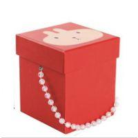 精美 手提 礼物盒 苹果盒 可爱兔子礼品盒 天地盖硬纸盒可订做