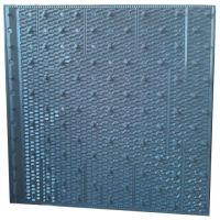 PVC冷却设备淋水片价格 改性pvc波填料价格 冷却塔填料报价