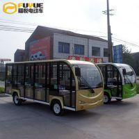 供应电动观光车 18座观光车FR-T18-M封闭款 九江观光车之家 厂家直销 全国包邮