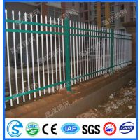 供应外资企业围墙栅栏,带弯头围栏,铁艺防护网,工厂围墙防爬网