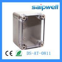 Saipwell/赛普优质透明盖80*110*70 空气断路开关盒 塑料电源盒