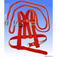 双背电工安全带,红色电工双背安全带系法,双背电工安全带厂家