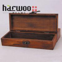 韩国笔袋铅笔盒 迪士尼文具木盒 木质桌面整理盒 创意实木收纳盒