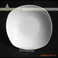 订做陶瓷盘子 八方汤盘 陶瓷餐具生产厂 汤 碗 白瓷 日式餐具陶瓷