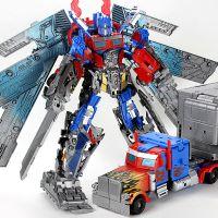 正版变形金刚4 版擎天柱汽车3C正版 儿童机器人模型玩具批发