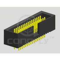 1.27mm 简易牛角 BOX HEADER