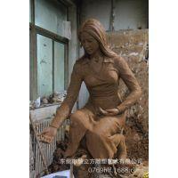 泥塑人物雕塑 东莞专业泥塑雕刻厂家 批发订制