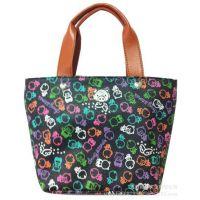 专业加工生产PU压花风格的小拎包,手提包