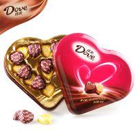 批发德芙150g心语 心形巧克力礼盒 德芙巧克力 情人节礼物