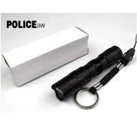 超亮防水led手电筒 盒装 带钥匙扣 便携 防水迷你电筒 配电池