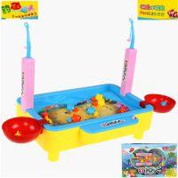钓鱼达人电动钓鱼玩具 多功能捕鱼台 儿童益智过家家玩具