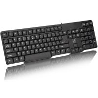 供应追光豹Q8单键盘 台式笔记本电脑有线键盘 游戏网吧办公U口键盘