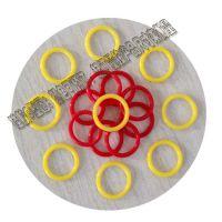 厂家供应日标耐高温透明硅胶O型圈线径1.5mm美标O型圈国标橡胶圈非标防水圈
