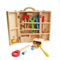 元智宝宝仿真儿童工具箱过家家玩具套装男孩维修木制修理木质智力