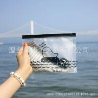 韩国文具多用途小鸡透明收纳袋文具袋 拉边袋 笔袋