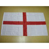 【厂家直销,可定做】供应190T涤纶英国国旗