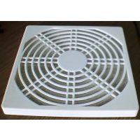 供应规格12cm 12公分 白色防尘网罩 三合一 风机排风设备配件