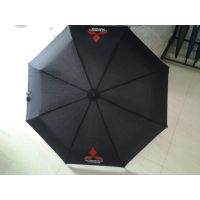 供应促销用折叠伞、广告三折伞订制、上海阳伞定制工厂