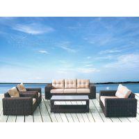 高档户外沙发 适合庭院花园园林户外 PE编藤户外沙发工厂直销
