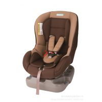 童星儿童安全座椅 小孩汽车安全座椅KS-2096 0-4岁 棕色 正反安装