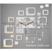厂家直销 亚克力镜片工艺时尚挂钟 创意DIY挂钟 低价促销