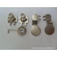 专业生产各种电池片弹簧。防盗器蜂鸣片弹簧