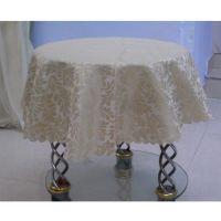 家用55-60圆桌盖巾 80*80CM 拒水拒油污 色织提花织物 一件代发