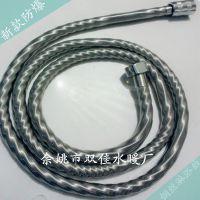 厂家直销SJO30高档304钢丝弹簧管 花洒软管 弹簧花纹螺纹管