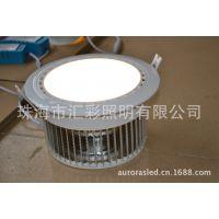 供应鳍片式LED筒灯 35W超大功率 COB封装工艺
