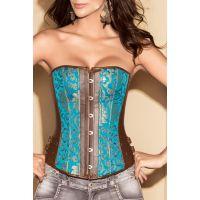 兰色#corset性感束身衣情趣束身衣宫廷束身衣游戏制服情趣内衣