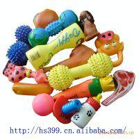 宠物玩具 小猫玩具 小狗玩具 BB响玩具 搪胶喷油 生产加工