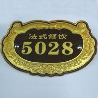 苍南标牌制作厂供应 亚克力铭牌 有机标牌 塑料亚克力门牌定做