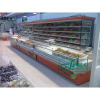冰柜 蔬菜保鲜柜 超市冷柜 熟食柜 鲜肉柜 卧式冷柜 冷藏展示柜