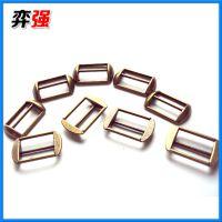 专业生产提供 佛山优质高边日字扣2.2克 装饰合金穿字扣