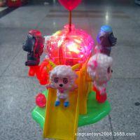 喜洋羊欢乐园儿童灯笼手提万向灯笼大红灯笼音乐玩具浙江灯笼厂