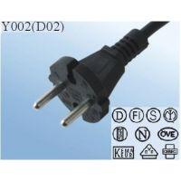 插头电线直销欧洲标准VDE认证吸尘器配套电源线16A插头电源线