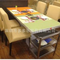 板式火锅餐饮家具 板式火锅桌