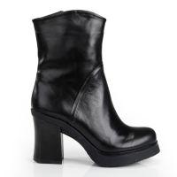 2014秋冬新款马丁靴英伦短靴子女粗跟单高跟鞋女靴防水台女子雪地