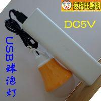 6V小球泡 USB接口 电脑专用迷你小球泡 移动电源充电宝专用5V
