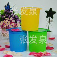 厂家供应塑料密封罐  糖果罐 食品罐可印刷二唯码