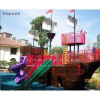 供应厦门沙滩主题公园景观船—以儿童游乐为主题的海盗船(振兴)