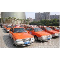 上海市郊区出租车 奉贤出租车后窗广告 后窗条幅广告投放中