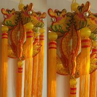 庆阳香包厂家直销文化香包装修必备挂件摆件大龙灯香包