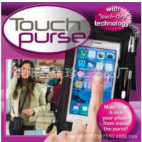 touch purse 多功能迷你包 苹果手机包 斜挎包零钱包 创意包钱包