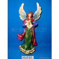 供应陶瓷天使工艺品H2636