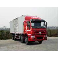 豪沃国四9.5米载货车/豪沃国四340马力载货车/豪沃箱式载货车