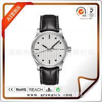 广东艾尔时表业私人定制不锈钢商务表 防水石英手表