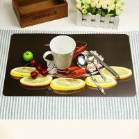 工厂热销产品 广告餐垫 软木餐垫定做 创意中纤板餐垫 外贸出口